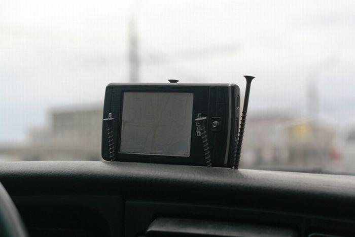 Держатель для навигатора в машину своими руками